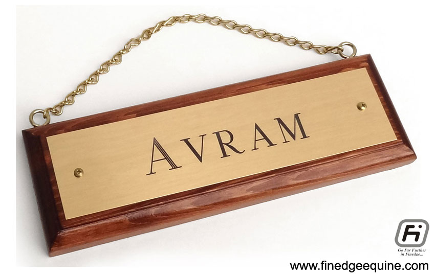 Equestrian name plates manufacturers exporters in India
